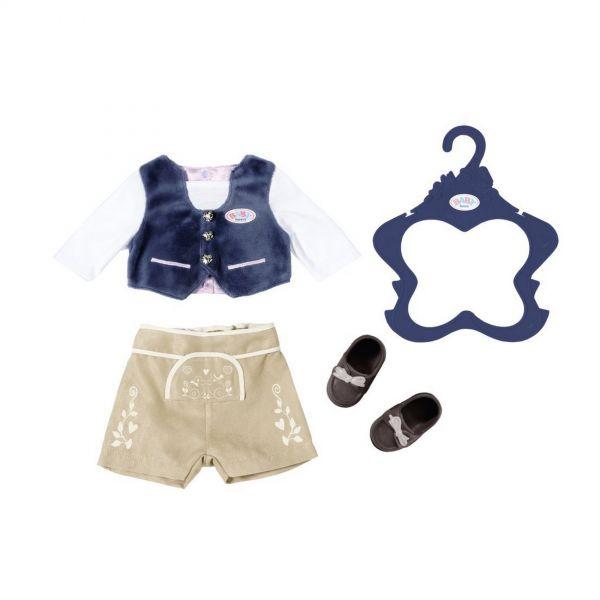 Zapf Creation 824511 - BABY born® Bekleidung - Trachten-Outfit Junge