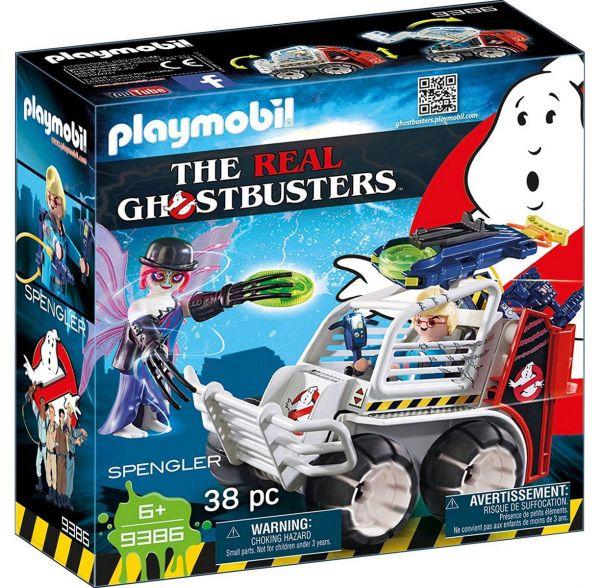 PLAYMOBIL 9386 - Ghostbusters™ - Spengler mit Käfigfahrzeug