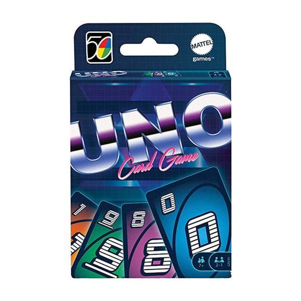 MATTEL GXV45 - Kartenspiel - UNO Iconic 80's