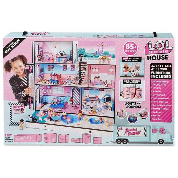 MGA 560531E7C - L.O.L. Surprise - Puppenhaus mit Möbeln, Licht, Sound