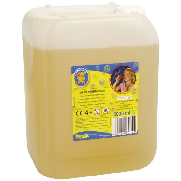 PUSTEFIX 420869750 - Seifenblasen - Nachfüll-Kanister, 5000 ml