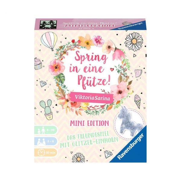 RAVENSBURGER 27006 - Familienspiel - Spring in eine Pfütze!, Mini Edition