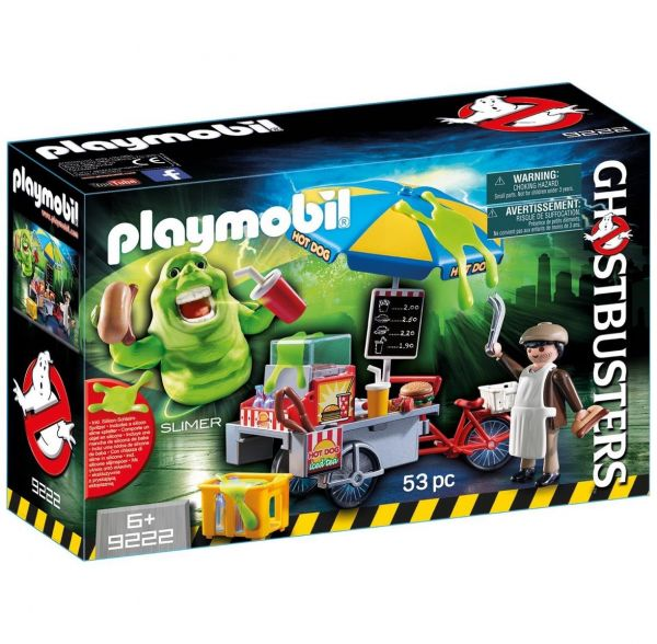 PLAYMOBIL 9222 - Ghostbusters™ - Slimer mit Hot Dog Stand