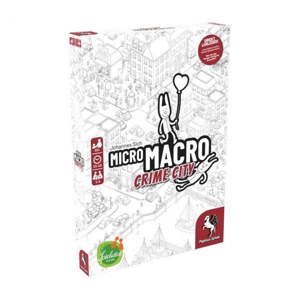 PEGASUS 59060G - Familienspiel - MicroMacro: Crime City (Edition Spielwiese)