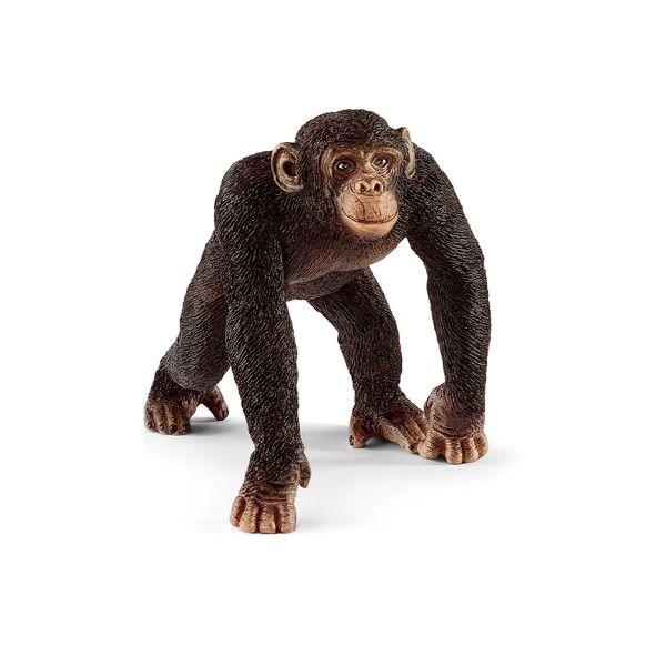 SCHLEICH 14817 - Wild Life - Schimpanse Männchen