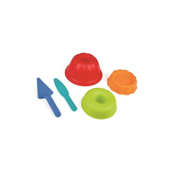 HAPE E4055 - Sandspielzeug - Backstube-Förmchen