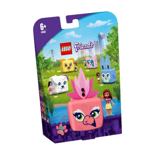 LEGO 41662 - Friends - Olivias Flamingo-Würfel