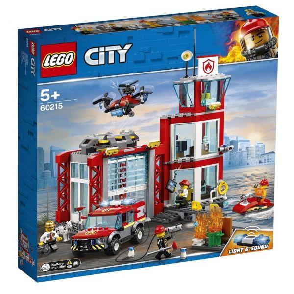 LEGO 60215 - City Feuerwehr - Feuerwehr-Station
