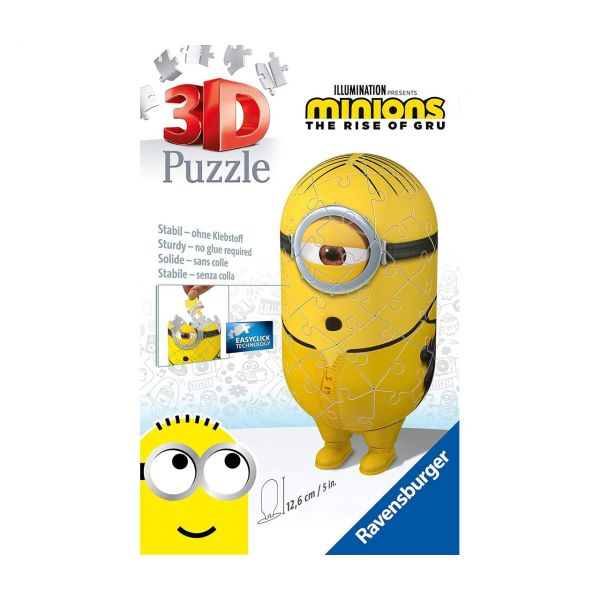 RAVENSBURGER 11230 - 3D Puzzle - Minions Kung Fu, 54 Teile
