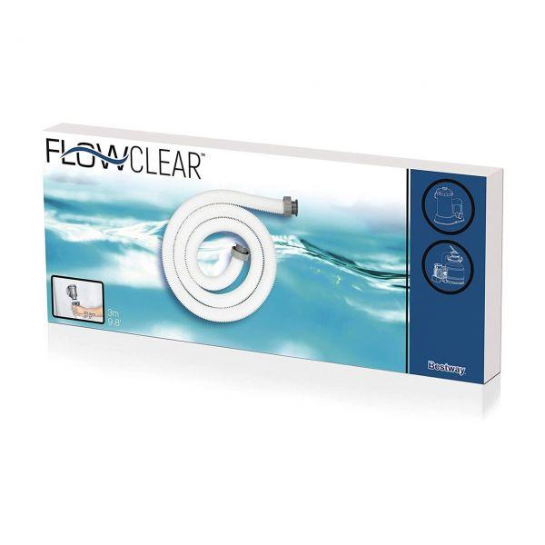 BESTWAY 58368 - Poolzubehör - Flowclear Schlauch für Pumpen, Ø38mm, 300cm