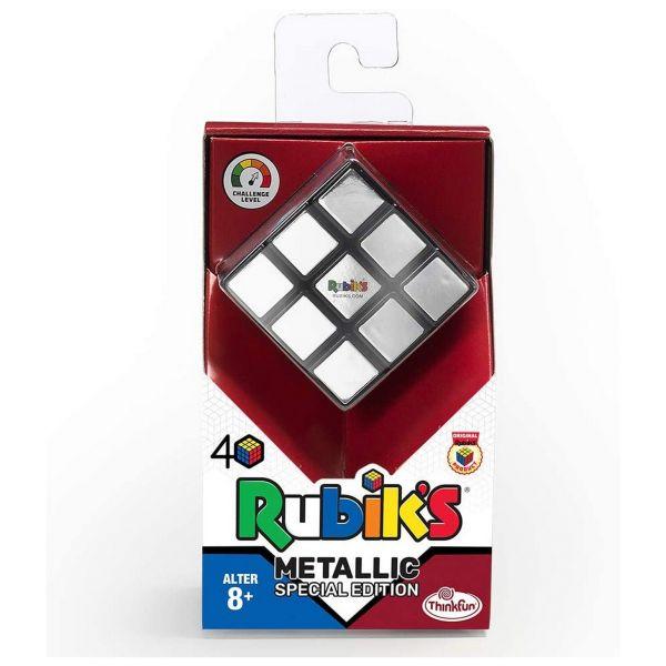ThinkFun 76430 - Rubik's Zauberwürfel - Metallic-Effekt