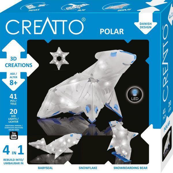 KOSMOS 003546 - CREATTO - Winter, Polar