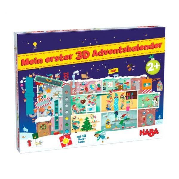 HABA 306267 - Mein erster 3D Adventskalender - In der Weihnachtsfabrik, 2021