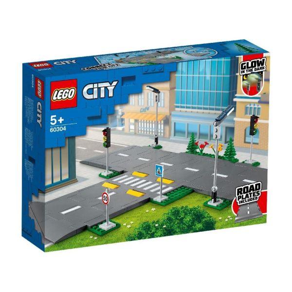 LEGO 60304 - City - Straßenkreuzung mit Ampeln