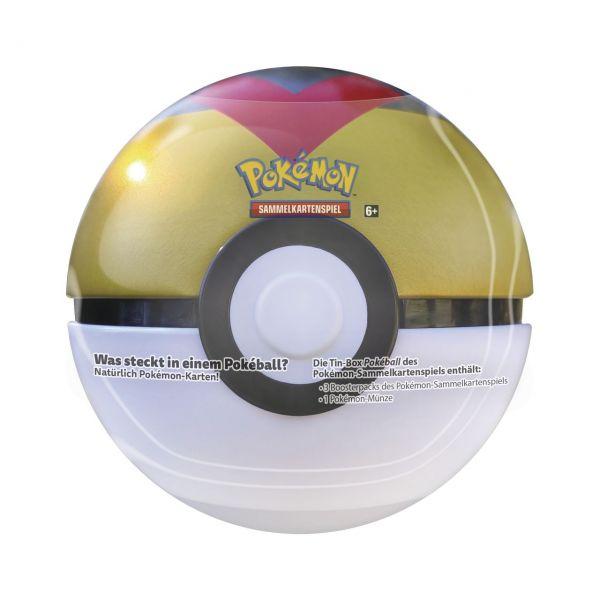 POKÉMON 45282 - Pokeball Tin - Frühjahr 2021, zufällige Auswahl, 1 Stk.