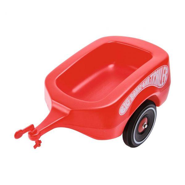 BIG 800001300 - Bobby Car Zubehör - Anhänger Trailer, rot