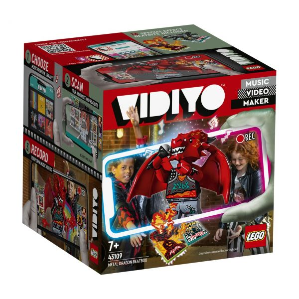 LEGO 43109 - VIDIYO - Metal Dragon BeatBox