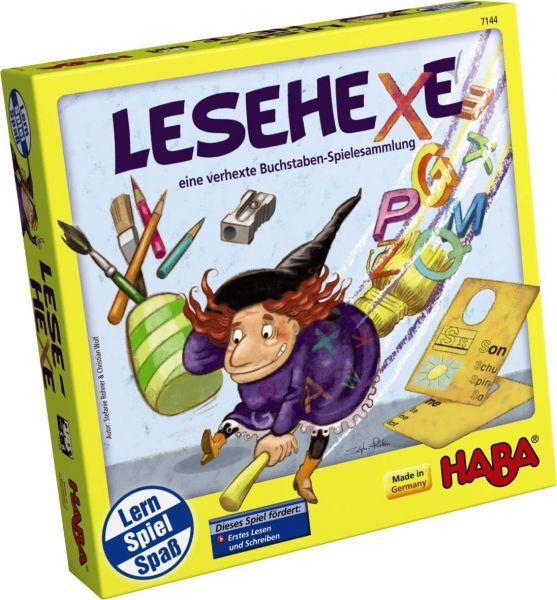 HABA 7144 - Lernspiel - Lesehexe