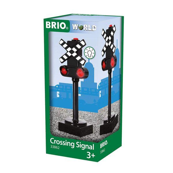 BRIO 33862 - Bahn - Blinkendes Bahnsignal