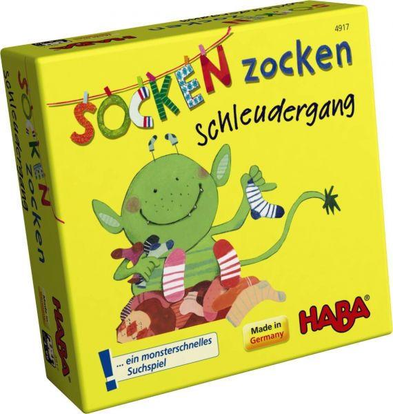 HABA 4917 - Mitbringspiel - Socken Zocken Schleudergang