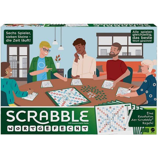 MATTEL GTJ27 - Gesellschaftsspiel - Scrabble Wortgefecht