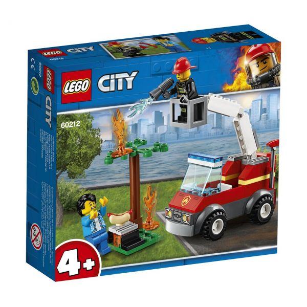 LEGO 60212 - City Feuerwehr - Feuerwehr beim Grillfest