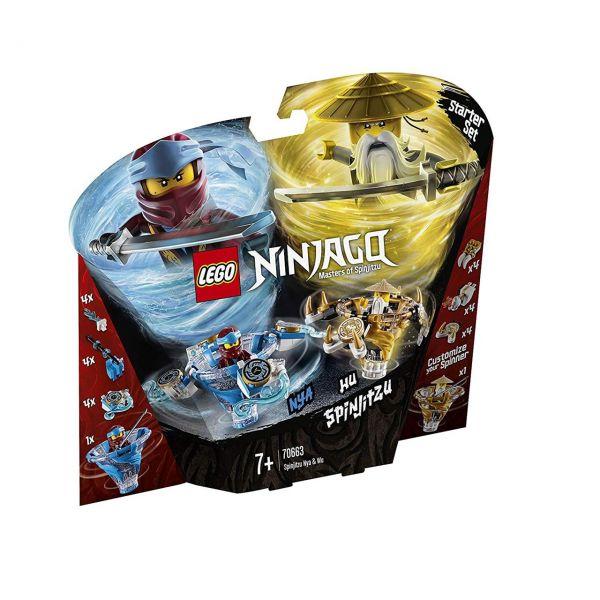LEGO 70663 - Ninjago - Spinjitzu Nya & Wu