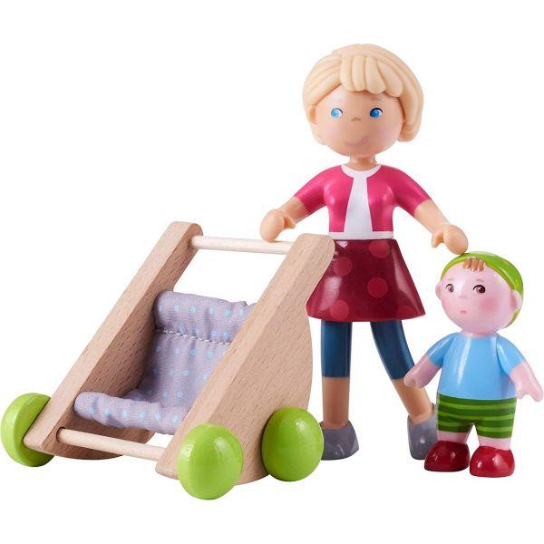 HABA 305594 - Little Friends - Mama Melanie und Baby Kilian