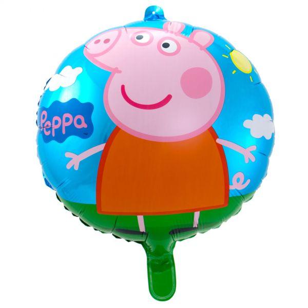 FOLAT 24515 - Geburtstag & Party - Peppa Wutz Folienballon, 43 cm