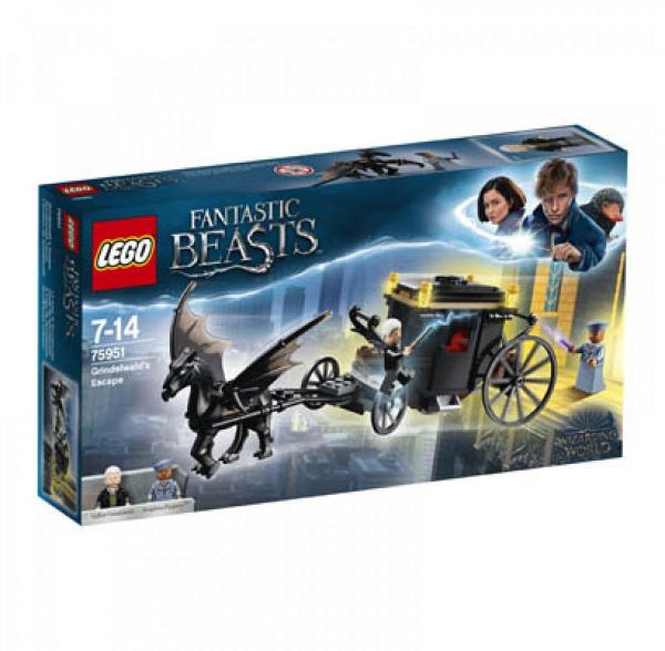 LEGO 75951 - Harry Potter - Grindelwalds Flucht