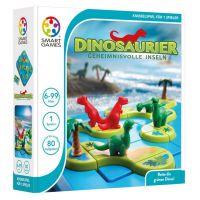 SMART GAMES 282 - Vorschulspiel - Dinosaurier, Geheimnisvolle Inseln