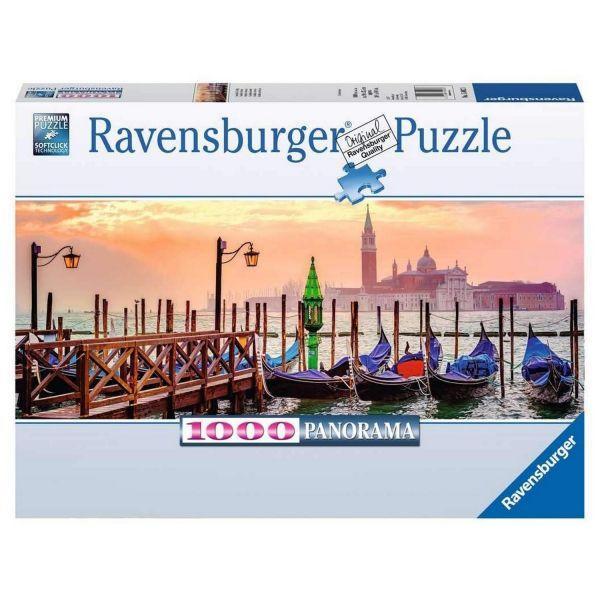 RAVENSBURGER 15082 - Puzzle - Gondeln in Venedig, 1000 Teile
