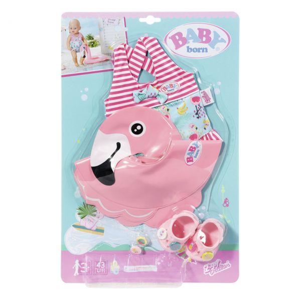 Zapf Creation 829707 - BABY born® - Holiday Schwimmspaß Set, 43cm