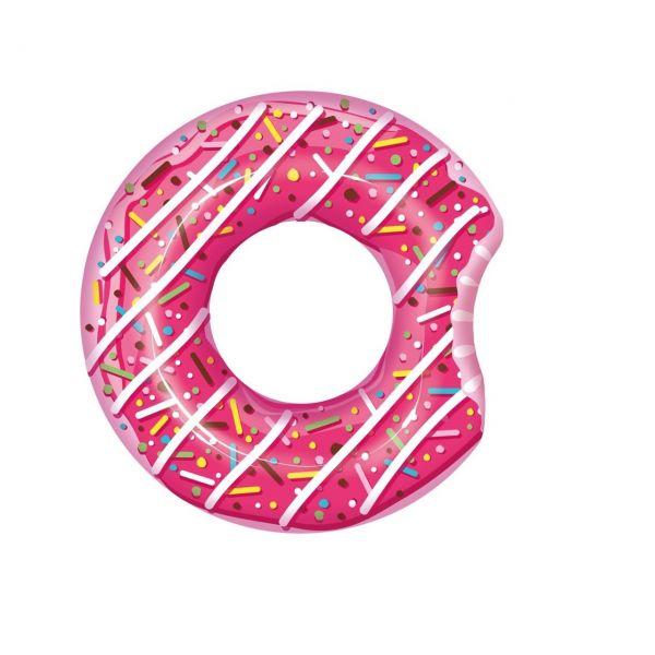 BESTWAY 36118 - Schwimmring Donut Ø 107cm, pink