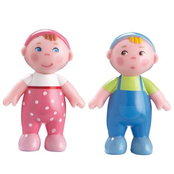 HABA 302010 - Little Friends - Biegepuppe Babys Marie und Max