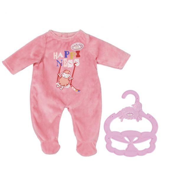 Zapf Creation 706312 - BABY Annabell® - Little Strampler Pink, 36cm