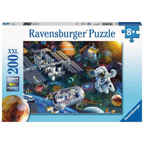RAVENSBURGER 12692 - Puzzle - Expedition Weltraum, 200 Teile