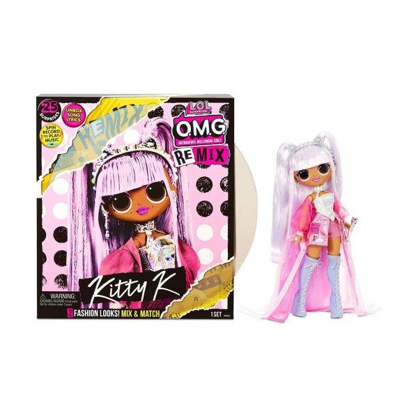 MGA 567240E7C - L.O.L. Surprise O.M.G. REMIX - Puppe Pop-Musik Doll Kitty K
