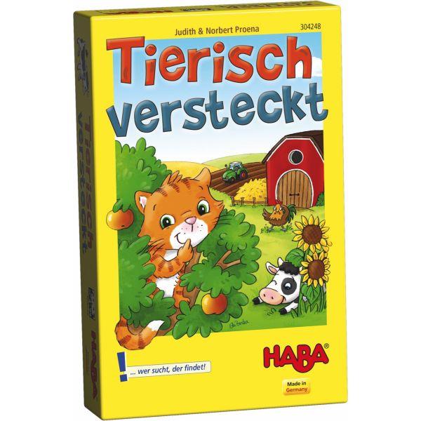 HABA 304248 - Mitbringspiel - Tierisch versteckt
