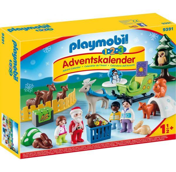 PLAYMOBIL 9391 - Adventskalender - Waldweihnacht der Tiere