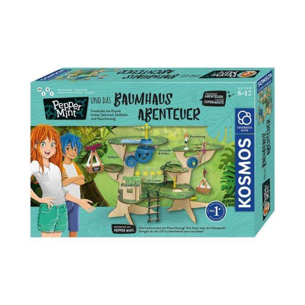 KOSMOS 602369 - Experimentierkasten - Pepper Mint und das Baumhaus-Abenteuer