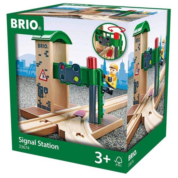 BRIO 33674 - Bahn - Signal Station