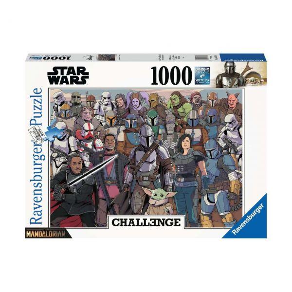 RAVENSBURGER 16770 - Puzzle - Challenge Baby Yoda, 1000 Teile