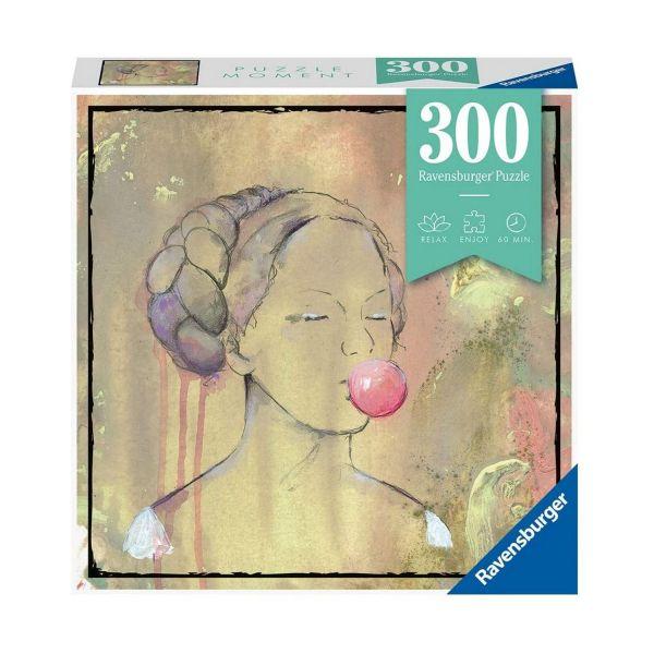 RAVENSBURGER 12965 - Erwachsenenpuzzle - Bubblegumlady , 300 Teile
