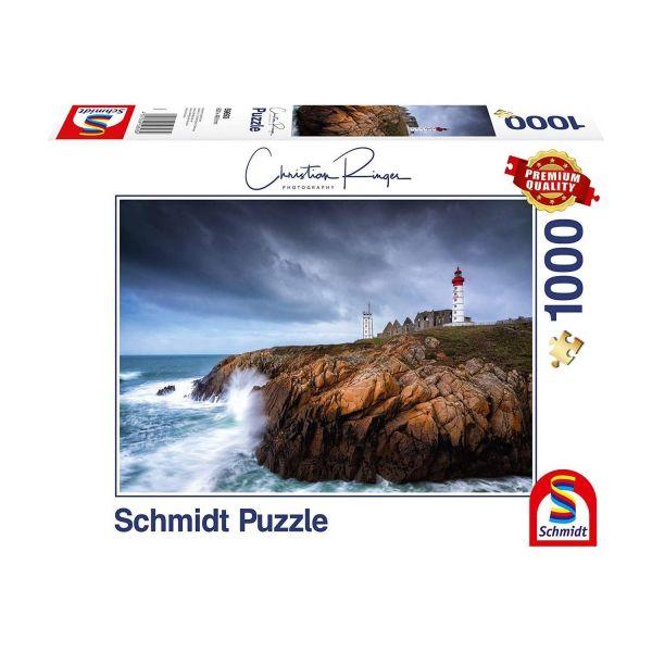 SCHMIDT 59693 - Puzzle - Christian Ringer, St. Mathieu, 1000 Teile
