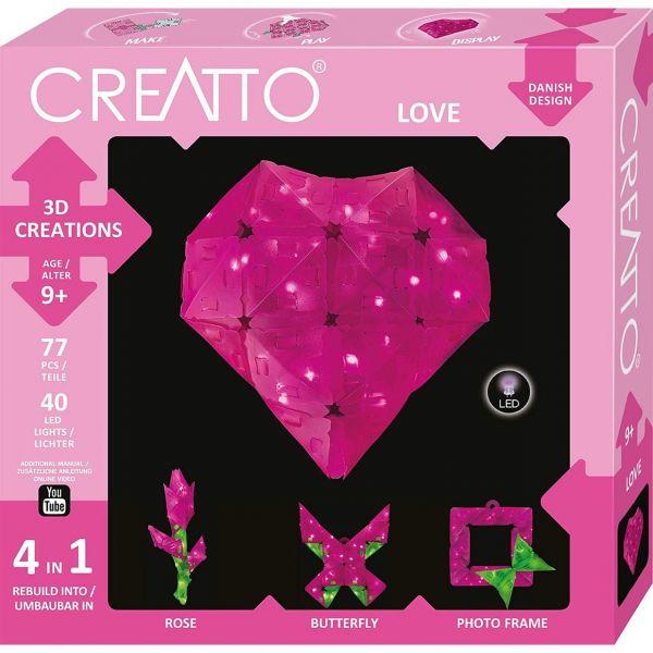 KOSMOS 003493 - CREATTO - Herz, Love
