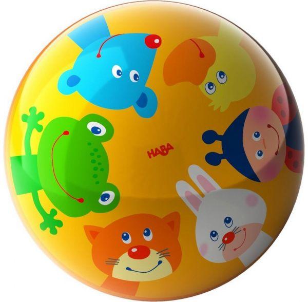 HABA 303480 - Ball - Tierfreunde, 15 cm Durchmesser