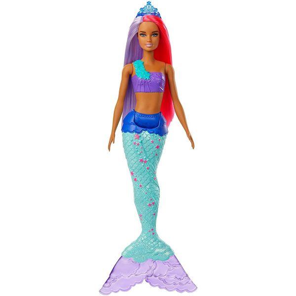 MATTEL GJK09 - Barbie - Dreamtopia Meerjungfrau Puppe, pink und lila Haare