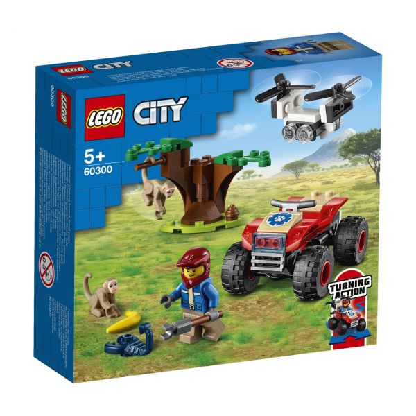 LEGO 60300 - City - Tierrettungs-Quad