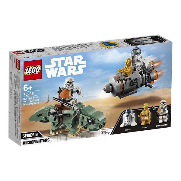 LEGO 75228 - Star Wars - Escape Pod vs. Dewback Microfighters